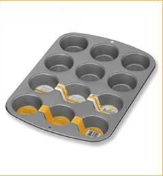 Muffinsblech mit 12 Mulden